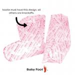 picture of fake baby foot packaging and peel equipment | foot peel